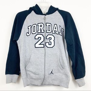 Jordan 23 Boys Hoodie Size Large